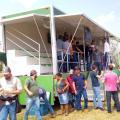Fábrica de unidade móvel para evento