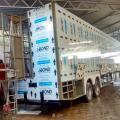 Fabricante de unidade móvel para evento