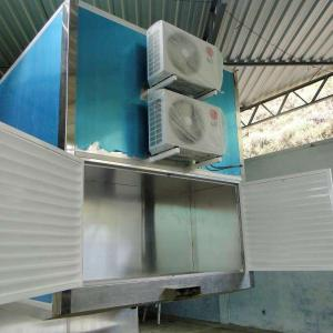 Fábrica de unidades móveis de serviços